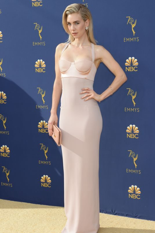 VANESSA KIRBY at Emmy Awards 2018 in Los Angeles 09/17/2018