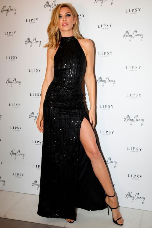 ABIGAIL ABBEY CLANCY at Lipsy x Abbey Clancy Launch in London 10/24/2018