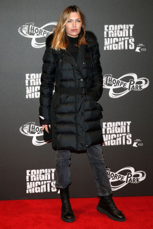 ABIGAIL ABBEY CLANCY at Thorpe Park's Fright Nights at Chertsey 10/04/2018