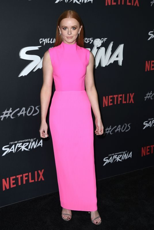 ABIGAIL F. COWEN at Chilling Adventures of Sabrina Premiere in Los Angeles 10/19/2018