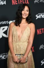 ADELINE RUDOLPH at Chilling Adventures of Sabrina Premiere in Hollywood 10/19/2018