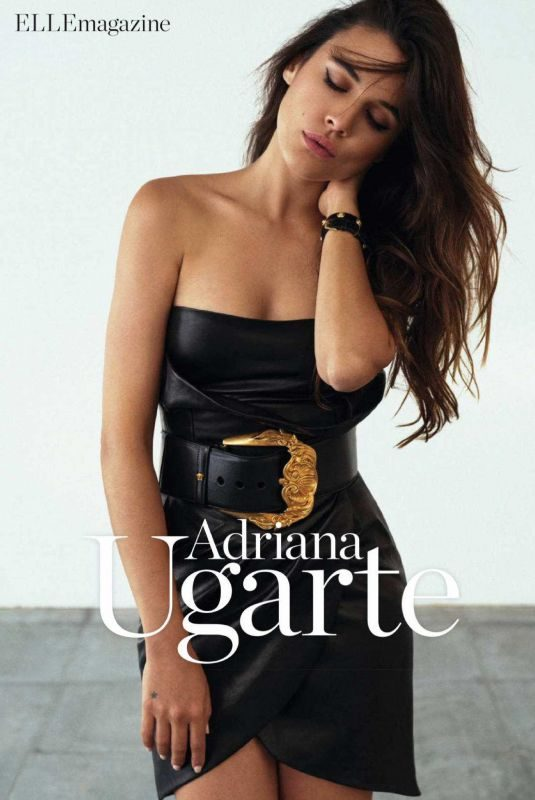 ADRIANA UGARTE in Elle Magazine, Spain November 2018