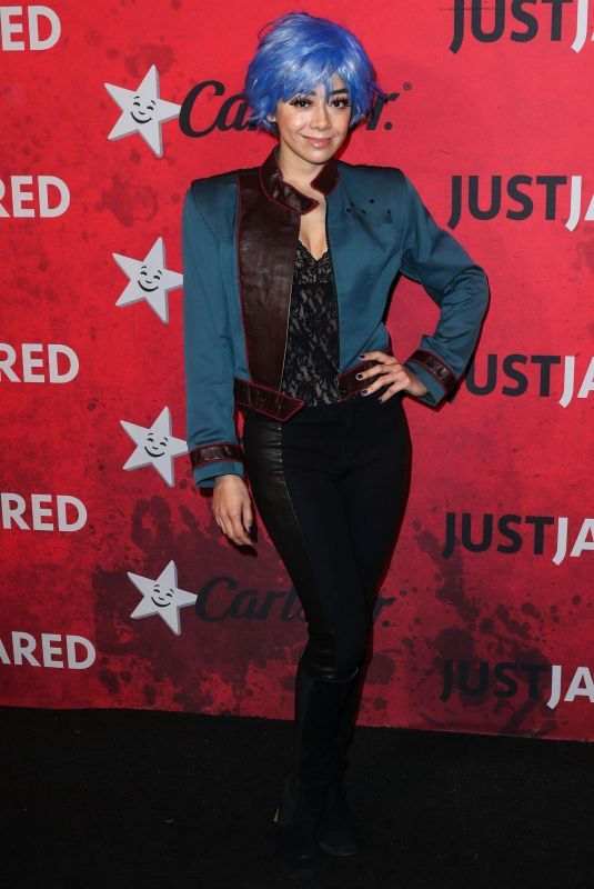 AIMEE GARCIA at Just Jared Halloween Party in West Hollywood 10/27/2018