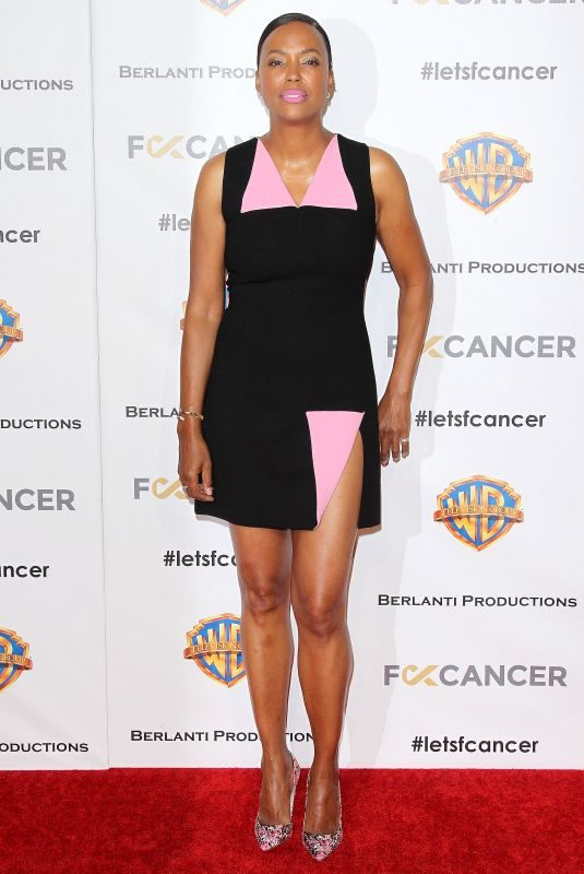 AISHA TYLER at Barbara Berlanti, F–k Cancer Benefit in Los Angeles 10/13/2018