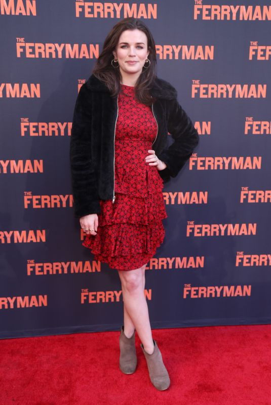 AISLING BEA at The Ferryman Opening Night at Jacobs Theatre in New York 10/21/2018