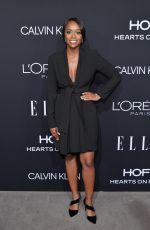 AJA NAOMI KING at Elle Women in Hollywood in Los Angeles 10/15/2018