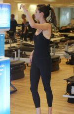 ALESSANDRA AMBROSIO at Pilates Class at Pilates Platinum in Brentwood 10/17/2018