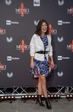 ALESSANDRA MATRONARDI at Medici: Masters of Florence Photocall in Florence 10/10/2018