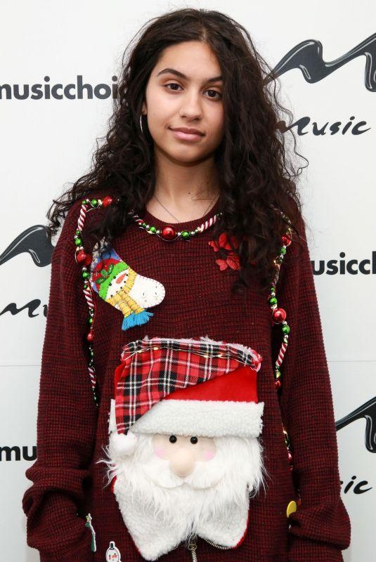 ALESSIA CARA at Music Choice in New York 10/09/2018