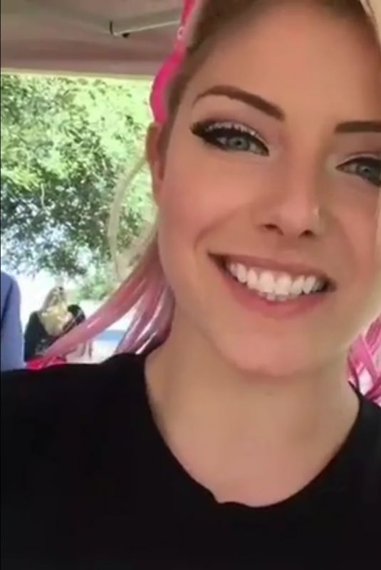ALEXA BLISS at a Charity Event in Orlando 10/04/2018