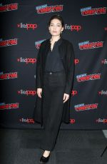 ALEXA DAVALOS at Man in the High Castle Panel at New York Comic-con 10/04/2018