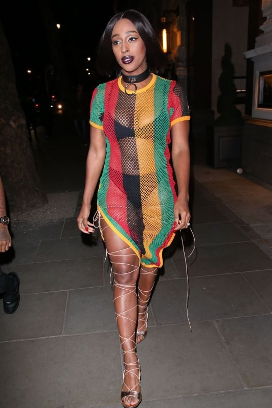 ALEXANDRA BURKE at a Halloween Party in London 10/27/2018