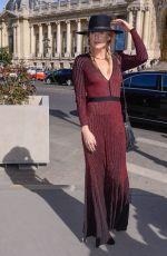ALEXANDRA RICHARDS at Elie Saab Show at Paris Fashion Week 09/29/2018