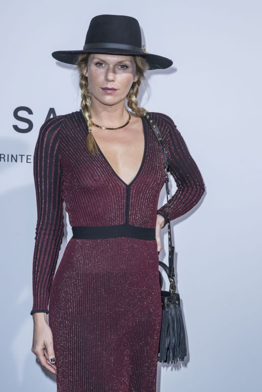 ALEXANDRA RICHARDS at Elie Saab Show at Paris Fashion Week 09/29/2018