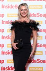 ALI BASTIAN at Inside Soap Awards 2018 in London 10/22/2018