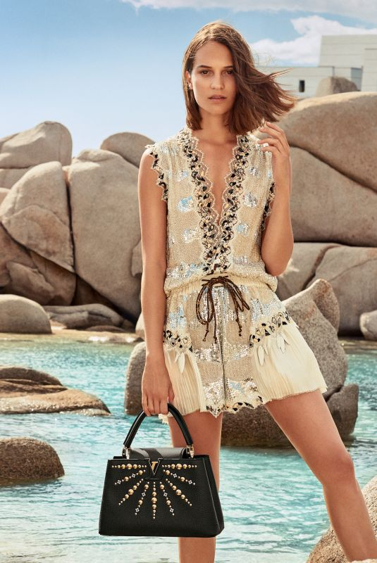 Alicia Vikander For Louis Vuitton Cruise 2019 Collection Hawtcelebs
