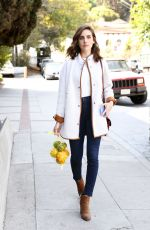 ALISON BRIE Out Shopping in Los Angeles 10/15/2018