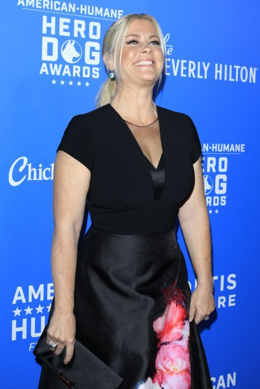 ALISON SWEENEY at American Humane Dog Awards in Los Angeles 09/29/2018