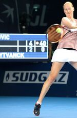 ALISON VAN UYTVANK at BGL BNP Paribas Luxembourg Open Tennis 10/16/2018