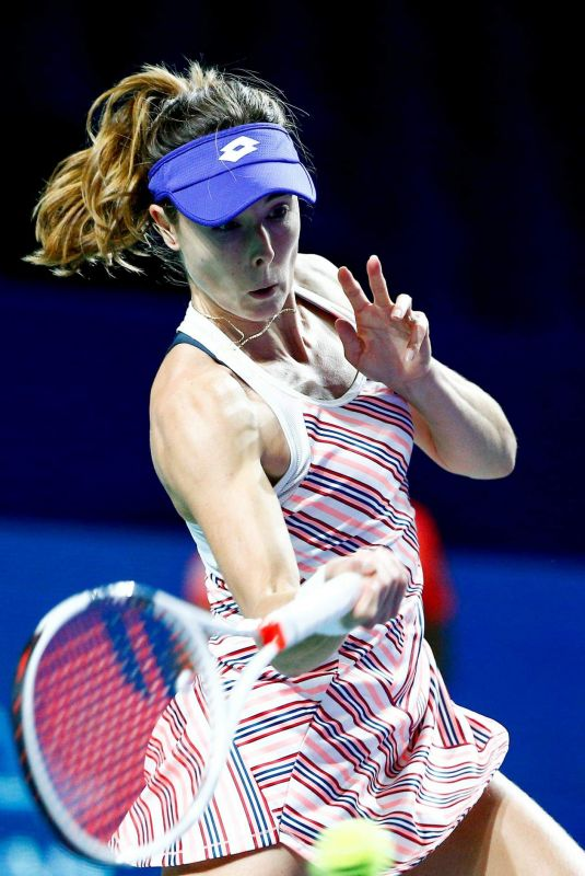 ALIZE CORNET at 2018 VTB Kremlin Cup International in Moscow 10/16/2018