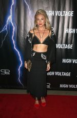 ALLIE GONINO at High Voltage Premiere in Los Angeles 10/16/2018
