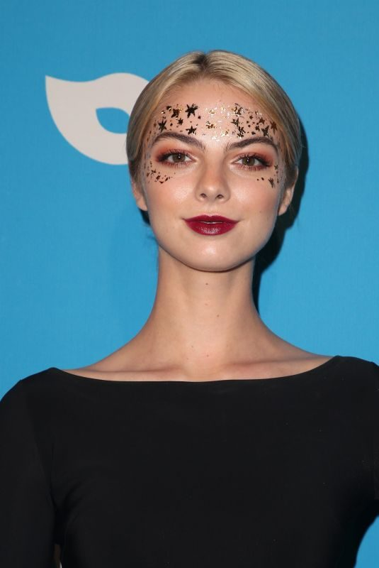 ALLIE MARIE EVANS at Unicef Masquerade Ball in Los Angeles 10/25/2018