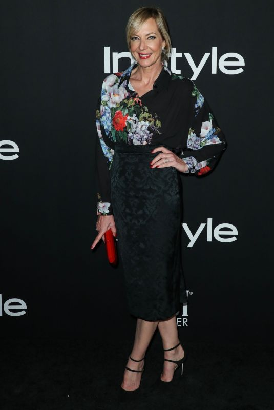 ALLISON JANNEY at Instyle Awards 2018 in Los Angeles 10/22/2018