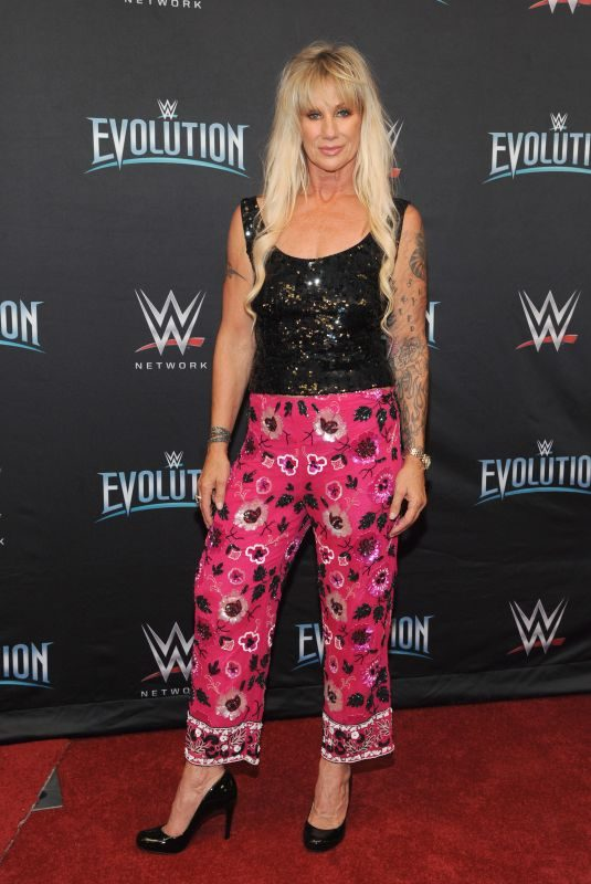 ALUNDRA BLAYZE at WWE's First Ever All-women's Event Evolution in Uniondale 10/28/2018