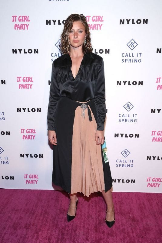 ALY MICHALKA at Nylon's Annual IT Girl Party in Los Angeles 10/11/2018