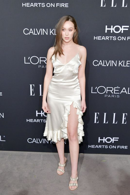 ALYCIA DEBNAM-CAREY at Elle Women in Hollywood in Los Angeles 10/15/2018