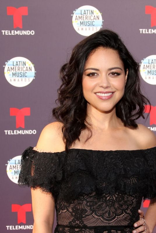 ALYSSA DIAZ at Latin American Music Awards 2018 in Los Angeles 10/25/2018