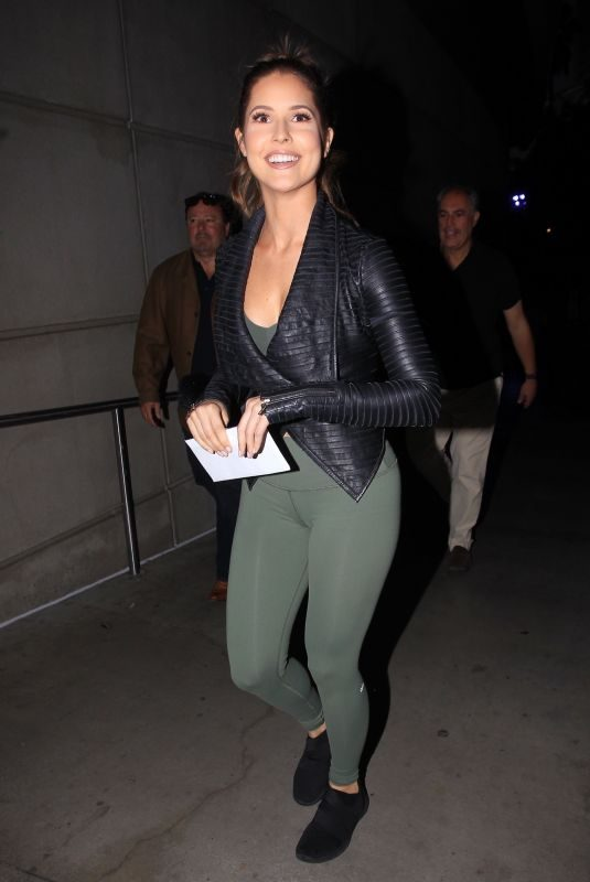 AMANDA CERNY at Staples Center in Los Angeles 10/20/2081