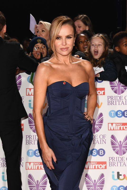 AMANDA HOLDEN at Pride of Britain Awards 2018 in London 10/29/2018
