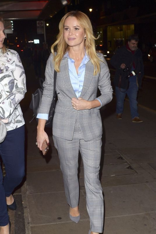 AMANDA HOLDEN Out and About in London 10/08/2018