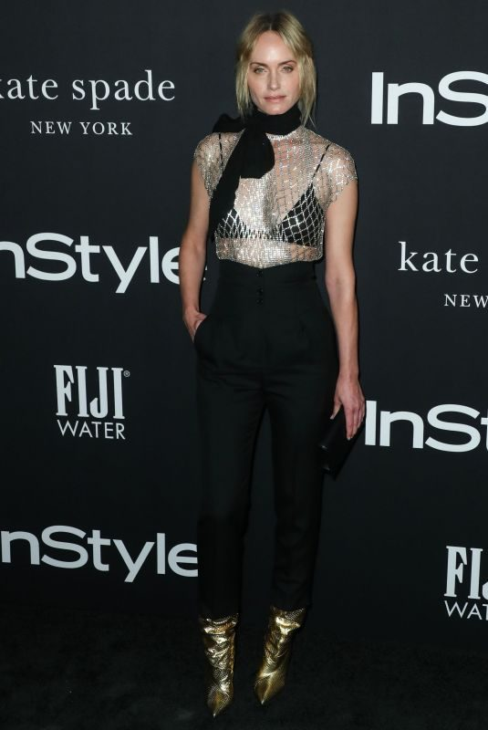 AMBER VALLETTA at Instyle Awards 2018 in Los Angeles 10/22/2018