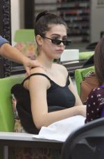 AMELIA HAMLIN at a Beauty Salon in Beverly Hills 10/25/2018