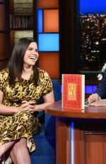AMERICA FERRERA at Late Show with Stephen Colbert 09/25/2018