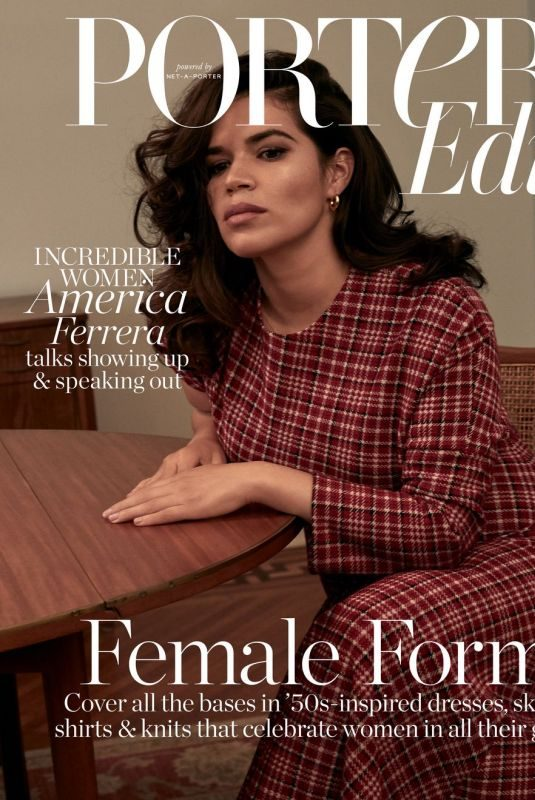 AMERICA FERRERA in Edit by Net-a-porter, October 2018