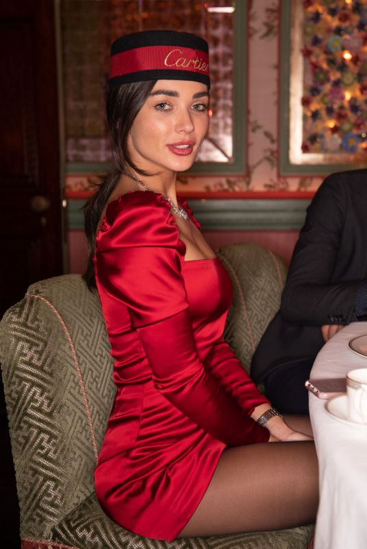 AMY JACKSON at Cartier Dinner Party in London 10/18/2018