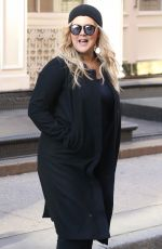 AMY SCHUMER on the Set of a Photoshoot in New York 10/25/2018