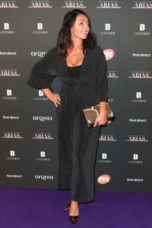 AMY VOCE at Audio and Radio Industry Awards in Leeds 10/18/2018