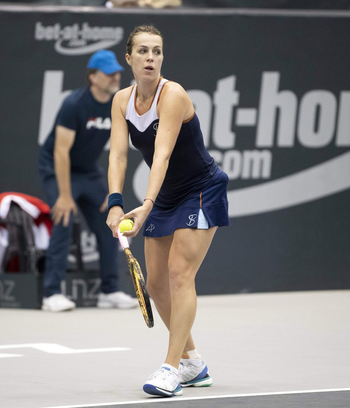 ANASTASIA PAVLYUCHENKOVA at WTA Upper Austria Ladies Tennins Tournament in  Linz 10/10/2018 – HawtCelebs