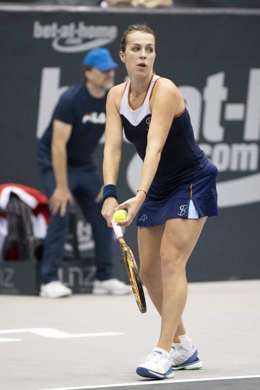 ANASTASIA PAVLYUCHENKOVA at WTA Upper Austria Ladies Tennins Tournament in Linz 10/10/2018