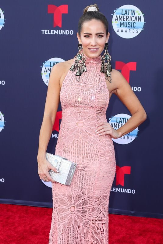 ANDREA MINSKI at Latin American Music Awards 2018 in Los Angeles 10/25/2018