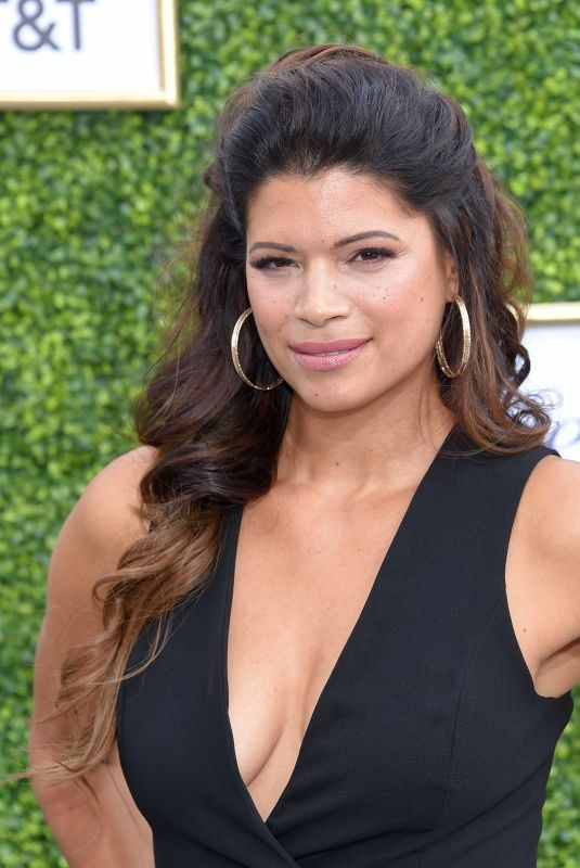 ANDREA NAVEDO at CW Network's Fall Launch in Burbank 10/14/2018