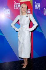 ANDREA RISEBOROUGH at Nancy Premiere at BFI London Film Festival 10/13/2018