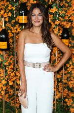 ANGELIQUE CABRAL at 2018 Veuve Clicquot Polo Classic in Los Angeles 10/06/2018