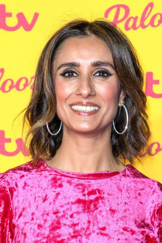 ANITA RANI at ITV Palooza in London 10/16/2018