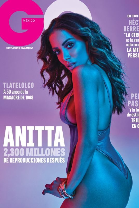 ANITTA in GQ Magazine, Mexico October 2018