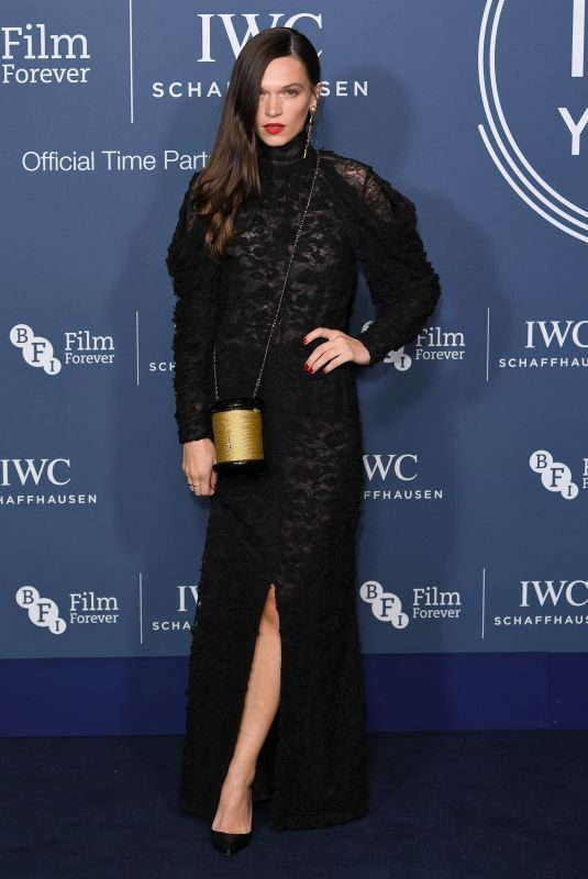 ANNA BREWSTER at IWC Schaffhausen Gala Dinner in London 10/09//2018